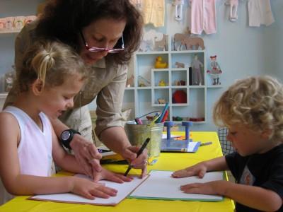 Create a peaceful when children are crafting,www.positiveparentalparticipation.com