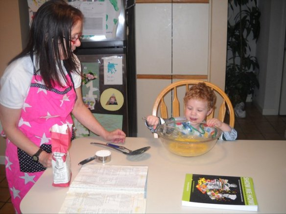 Cooking with kids builds self-esteem, develops literacy skills and is just plain fun!