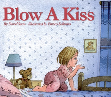 Blow A Kiss: Book Review and Craft Activity for Kids