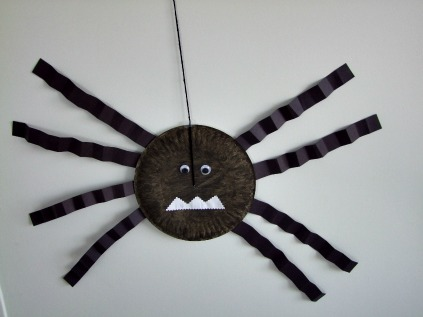 Make A Paper Plate Spider Gracie And Josh Review Picture Books