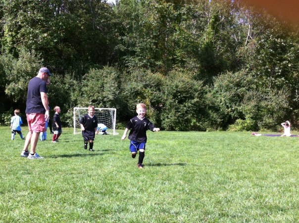 jeremys first day at soccer made a goal 9_7‑13