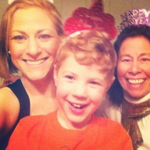 3 generations on new years eve