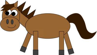 shapes-horse