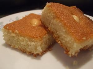 Harissa cake