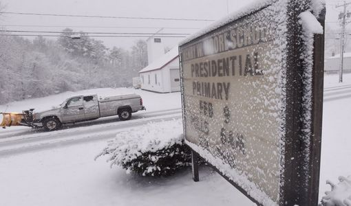 snowy presidential primary