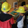 kids in hard hats