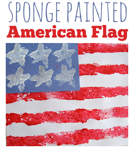 sponge-painted-american-flag-4th-of-july-craft-