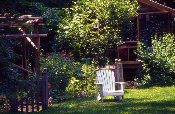 outdoor work space