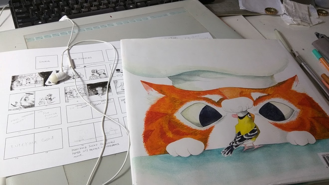 storyboard and illustration