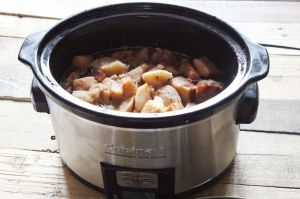 crockpot applesauce pic