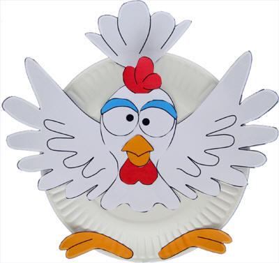 plate-chicken