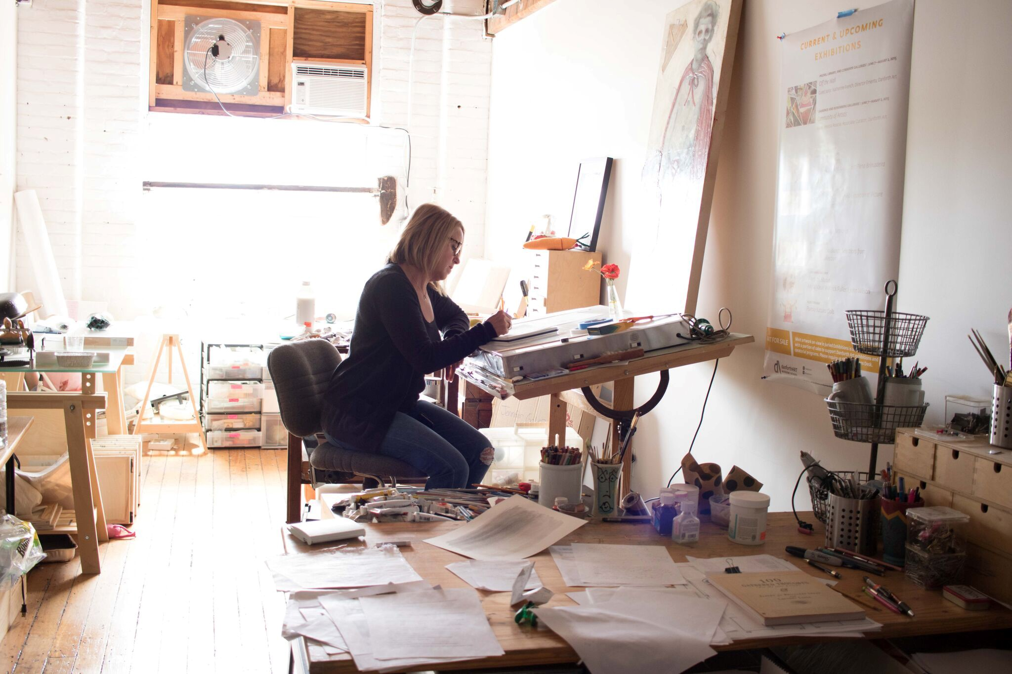 workspace for art