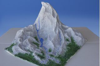 paper mache mountain