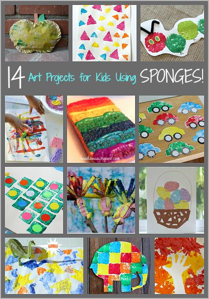 sponges painting