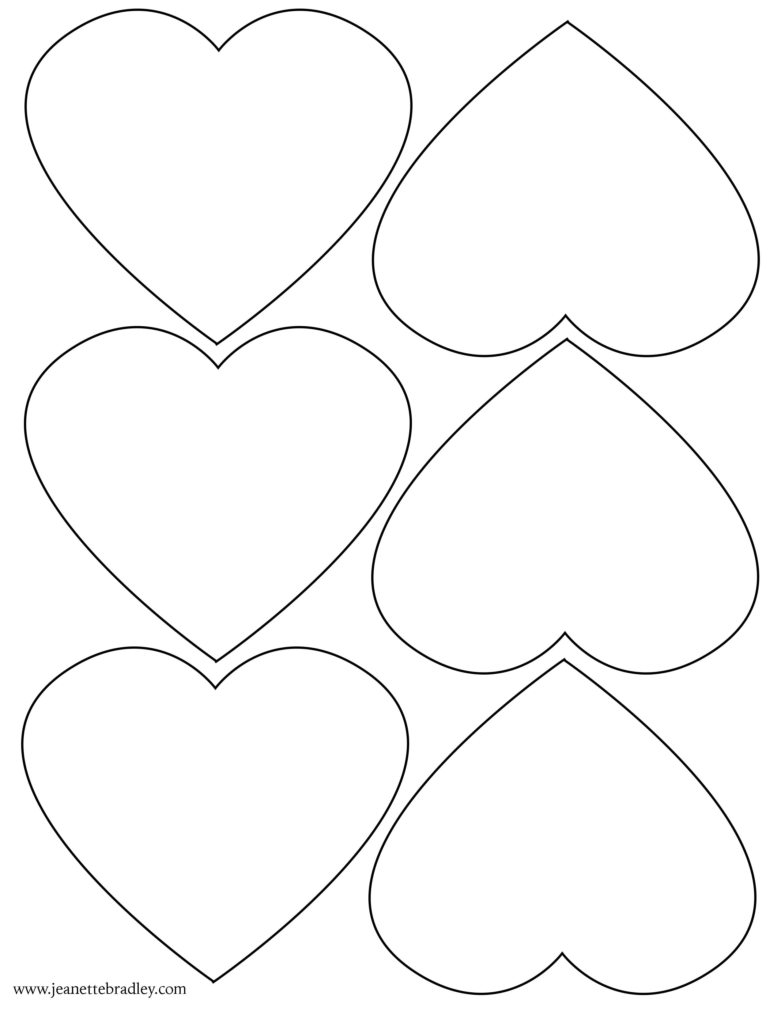 heart template copy