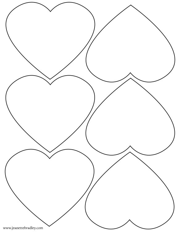 heart template copy