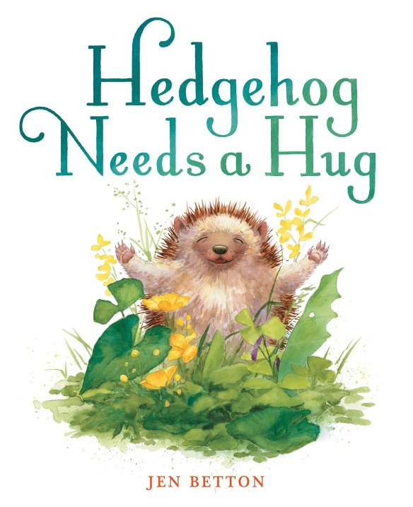 hedgehog needs a hug cover
