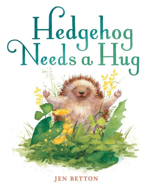 hedgehog needs a hug cover