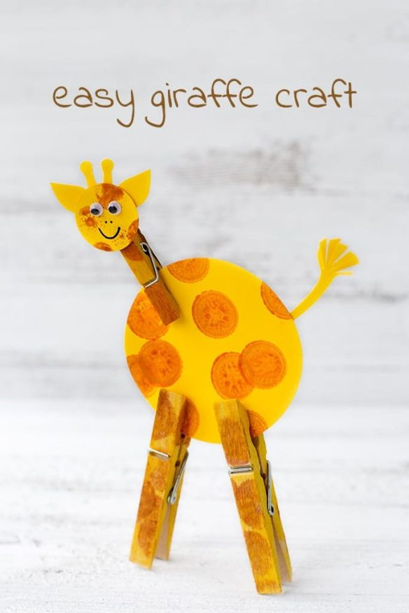 giraffe craft