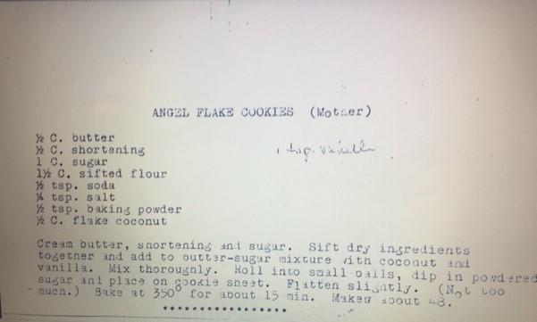 Brian Lies recipe