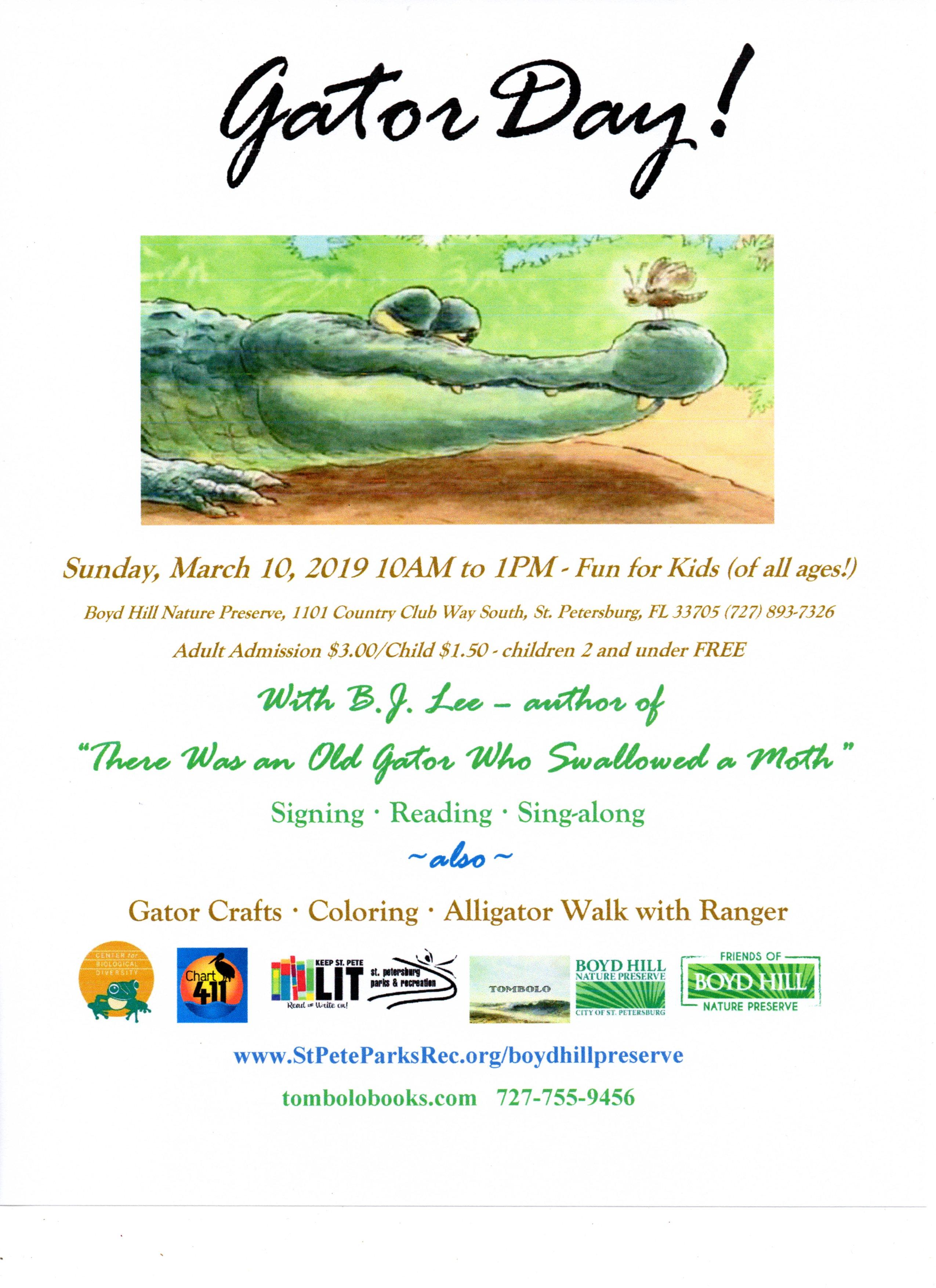 Gator Day Flyer 3 10 19 final