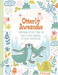 Illustrator Mirka Hokannen created an 'otterly awesome' activity book for the kids