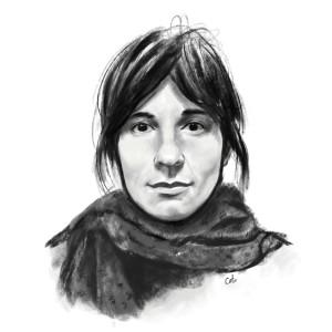 Carina Povarchik self portrait