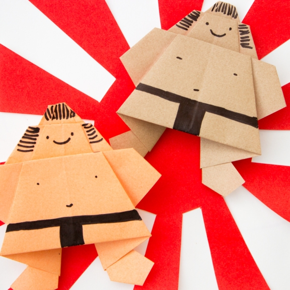 Easy Origami Sumo Wrestler (1 of 1)-7