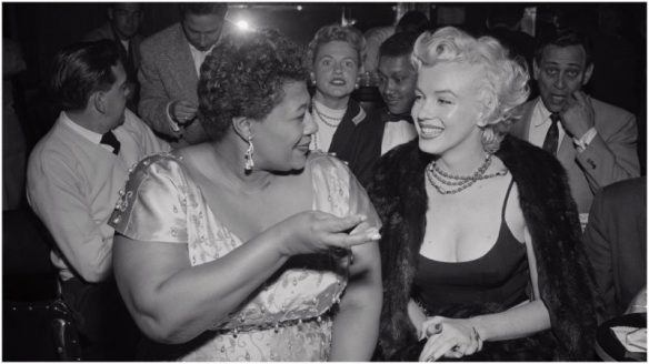 ella and marilyn in nightclub
