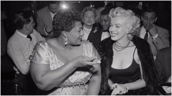 ella and marilyn in nightclub