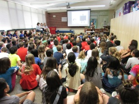 400 2nd-5th graders in Chicago heard about building your dream