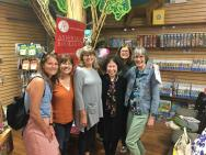 Hello Chicago! Thank you to the dear friends who turned out to support me at the Andersons bookstore in LaGrange