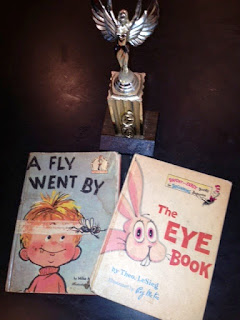 Eye Book and A Fly Went By Books
