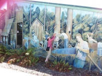 Fabulous murals in this NZ town