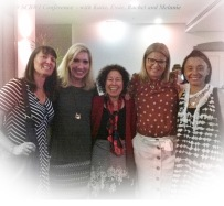 The Storm Literary Agency crew at the Australia/NZ SCBWI