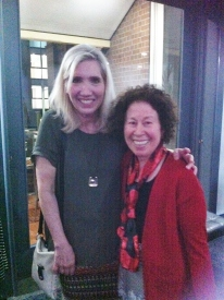 At the Australia/NZ SCBWI with the very best agent in the world, my dear Essie White