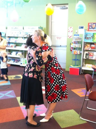 Librarian Irene Guerasimova at Glen Eden Library in Auckland NZ