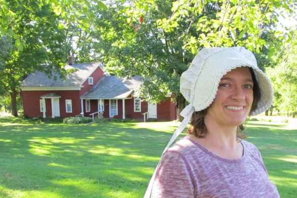 Annette at Almanzo